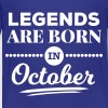 legends are born in october birthday October  - Toddler Premium T-Shirt