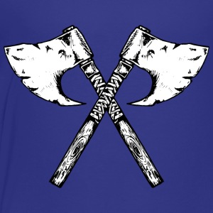 the viking axe - Toddler Premium T-Shirt