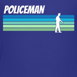 Retro Policeman - Toddler Premium T-Shirt