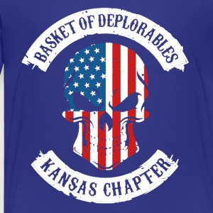 Basket Of Deplorable KS Chapter Shirts - Toddler Premium T-Shirt