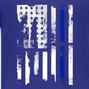 Thin Blue Line USA Shirt - Toddler Premium T-Shirt