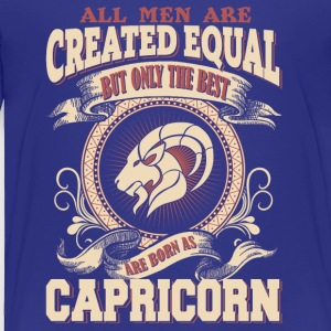 The Luckiest Men Are Born As Capricorn - Toddler Premium T-Shirt