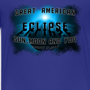 Total Solar Eclipse Summer August 21st 2017 - Toddler Premium T-Shirt
