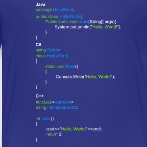 Programmer, coder shirts - Toddler Premium T-Shirt