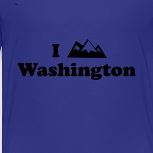 washington mountain - Toddler Premium T-Shirt