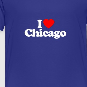 I Love Heart CHICAGO Funny T Shirt Premium - Toddler Premium T-Shirt