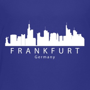 Frankfurt Germany Skyline - Toddler Premium T-Shirt