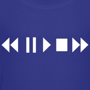 Play Pause Rewind - Toddler Premium T-Shirt