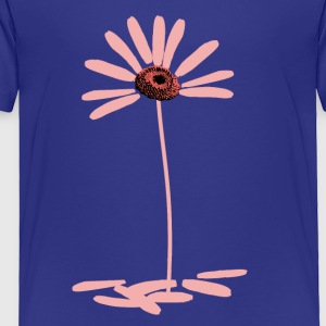 Daisy Pink - no text - Toddler Premium T-Shirt