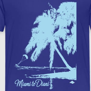 Miami To Diani Limited Edition Island Tshirt - Toddler Premium T-Shirt