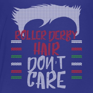 Ugly sweater christmas gift for Roller derby - Toddler Premium T-Shirt