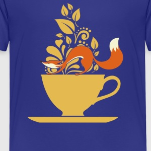 fox tea - Toddler Premium T-Shirt