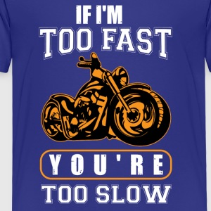 Fast Motorcycle - Toddler Premium T-Shirt