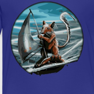 Squirrel surfer - Toddler Premium T-Shirt