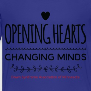 Opening Hearts Changing Minds - Toddler Premium T-Shirt