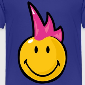 SmileyWorld Pink Mohawk - Toddler Premium T-Shirt