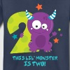 Monster 2nd Birthday - Toddler Premium T-Shirt