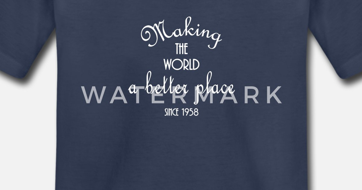 Womens 60th Birthday Gift Shirt 1958 For Women Turning 60 Years Old By Spreadshirt Gifts