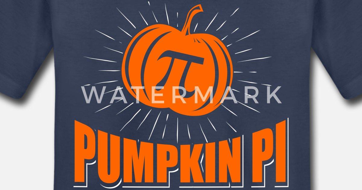 Halloween Pumpkin Pie Cute Pumpkin Pi Toddler Kids T-Shirt Thanksgiving