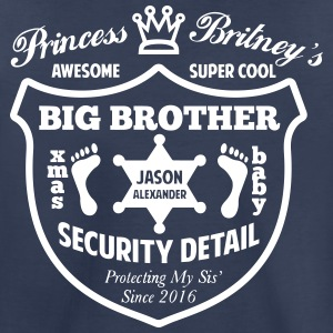 Big Brother Security Detail Shirt - Toddler Premium T-Shirt