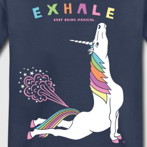 Cobra Pose Unicorn Exhale - Toddler Premium T-Shirt