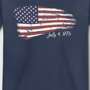 Independence Day 4th of July American Flag 1776 - Toddler Premium T-Shirt