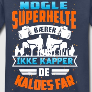 SUPERHELTE FAR BEGR ANSET TIDSPERIODE - Toddler Premium T-Shirt