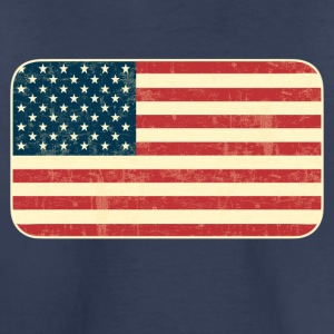 Grungy USA Flag - Toddler Premium T-Shirt