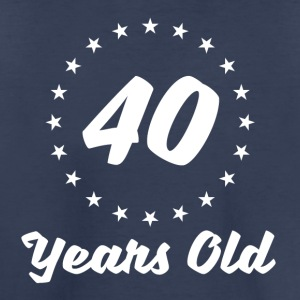 40 Years Old - Toddler Premium T-Shirt