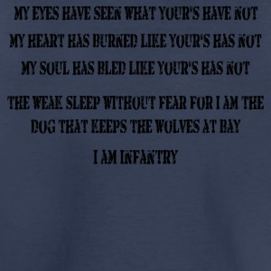 I Am Infantry - Toddler Premium T-Shirt