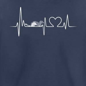 otter heartbeat shirt - Toddler Premium T-Shirt