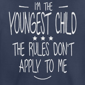 I'm the Youngest Child shirt - Toddler Premium T-Shirt