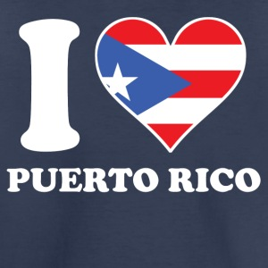 I Love Puerto Rico Puerto Rican Flag Heart - Toddler Premium T-Shirt