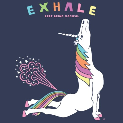 Cobra Pose Unicorn Exhale