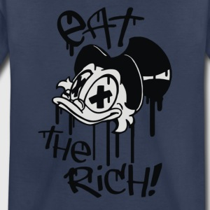 Eat the rich - Toddler Premium T-Shirt