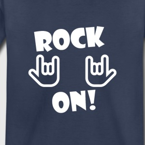Rock On (White) - Toddler Premium T-Shirt