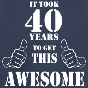 40th Birthday Get Awesome T Shirt Made in 1977 - Toddler Premium T-Shirt