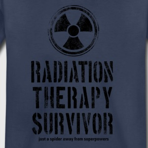 Radiation Therapy Survivor Black - Toddler Premium T-Shirt