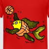 Basketball Fish, Fish Playing Basketball, By FabSpark - Toddler Premium T-Shirt
