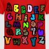Graffiti Alphabet Multi-Color--DIGITAL DIRECT ONLY - Toddler Premium T-Shirt