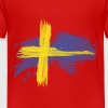 sweden flag awesome - Toddler Premium T-Shirt