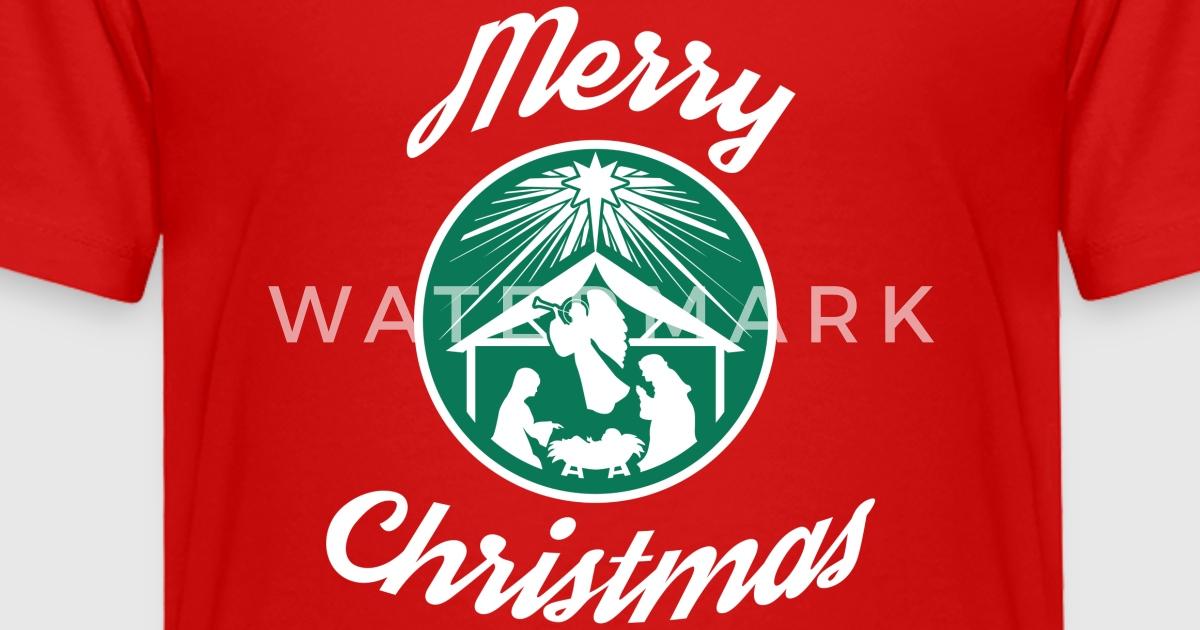 merry christmas starbucks by crosswear spreadshirt - Starbucks Merry Christmas