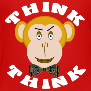 THINK MONKEY THINK TV TWEEN SHELDON PARODY - Toddler Premium T-Shirt