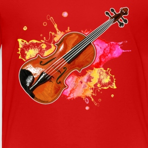 Violin Musical Instrument Tshirt - Toddler Premium T-Shirt
