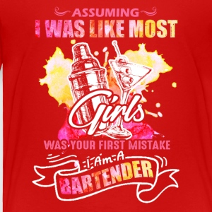 BARTENDER TEE SHIRT - Toddler Premium T-Shirt