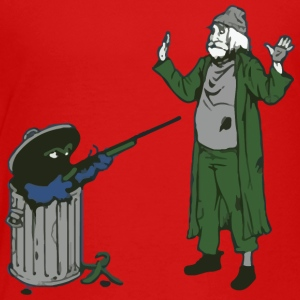 Trash can - Toddler Premium T-Shirt