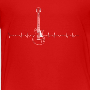 Guitar Heartbeat - Toddler Premium T-Shirt