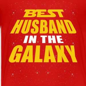 Best Husband In The Galaxy - Toddler Premium T-Shirt