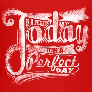 today_is_perfect_white - Toddler Premium T-Shirt