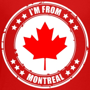 I'm from MONTREAL - Toddler Premium T-Shirt